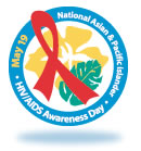 Logo for National Asian and Pacific Islander HIV/AIDS Awareness Day