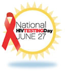 Logo for National HIV Testing Day