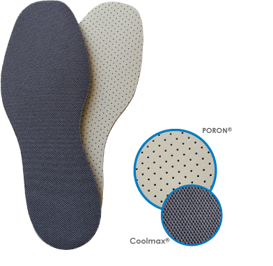 CoolSorb Universal Size Shoe Insoles  Sports Supports