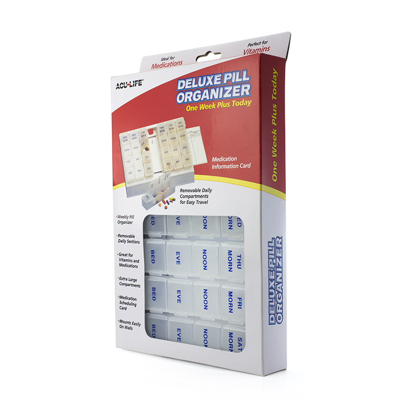 One Week Plus Today Deluxe Pill Organiser :: Sports ...