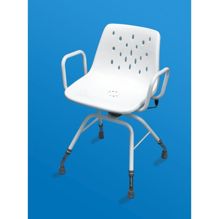 shower chair with swivel seat bauhaus myco ultra :: sports supports | mobility healthcare products