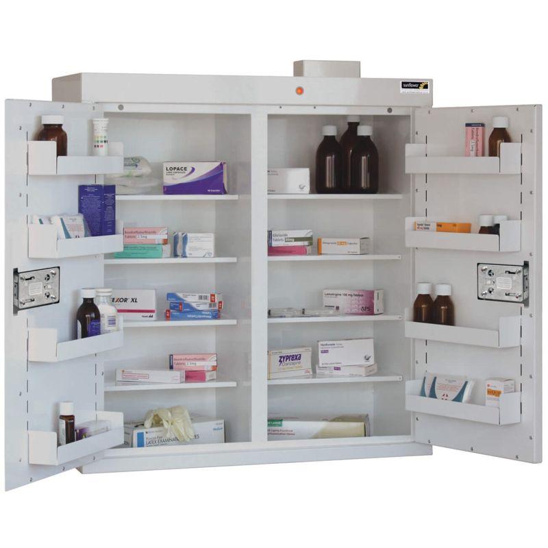 Sunflower Medical Double Door Medicine Cabinet 91 x 80 x