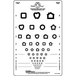 Logmar 3m Patti Pics Eye Test Charts :: Sports Supports