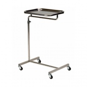 Bristol Maid Variable Height Mayo Instrument Table