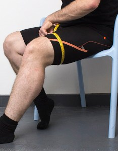 Measure the circumference of your thigh six inches above kneecap also learn how to size and fit donjoy knee brace sports supports rh healthandcare