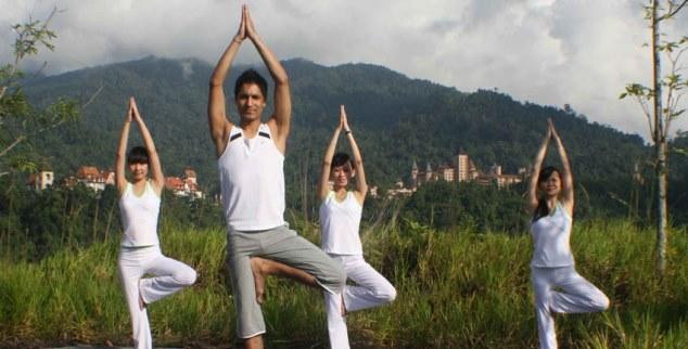 Yoga at The Chateau