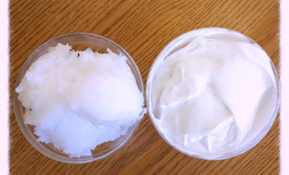 Homemade body butter