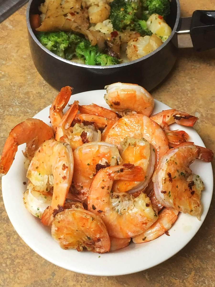 Spicy Pan Grilled Shrimp: Recipe and Preparation