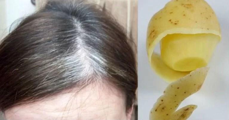Lunasi Gray Rambut Menggunakan hanya 1 Ingredient!