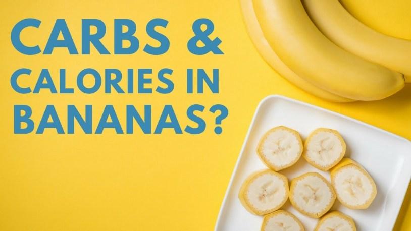 calories in a banana