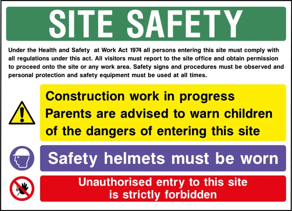 Zone Safety Posters Food