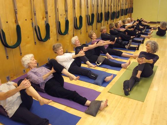 pilates for elderly