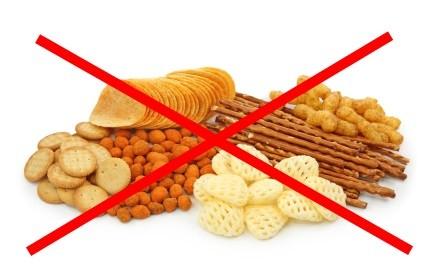 avoid salty snacks