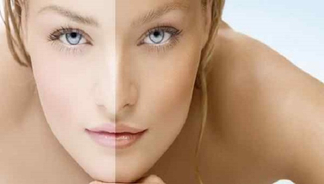 How to lighten dark skin