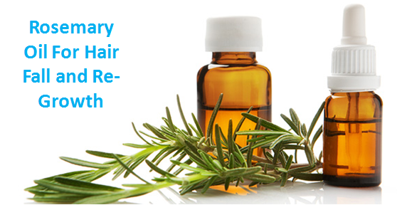 Rosemary Oil For Hair Fall and ReGrowth Hair