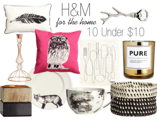 H&M For The Home 10 Under 10