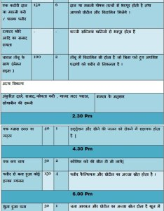 Pregnancy diet chart in hindi healthy food for pregnant women also rh healthbeautytips