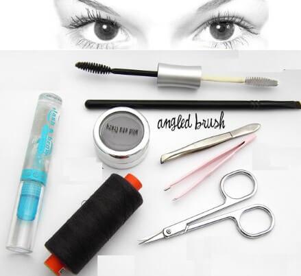 आईब्रो को घना बनाने के उपाय-Eyebrow Growth Tips