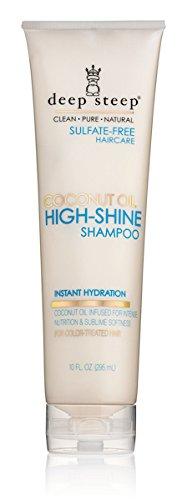 Deep Steep Coconut Oil High Shine Shampoo