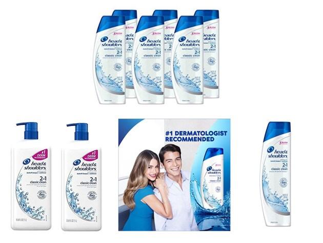 Head and Shoulders Classic Clean 2-in-1 Dandruff Shampoo