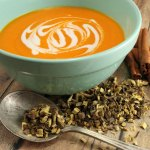 Caramelized Carrot & Licorice Root Soup