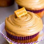 Salted Triple Caramel Cupcakes