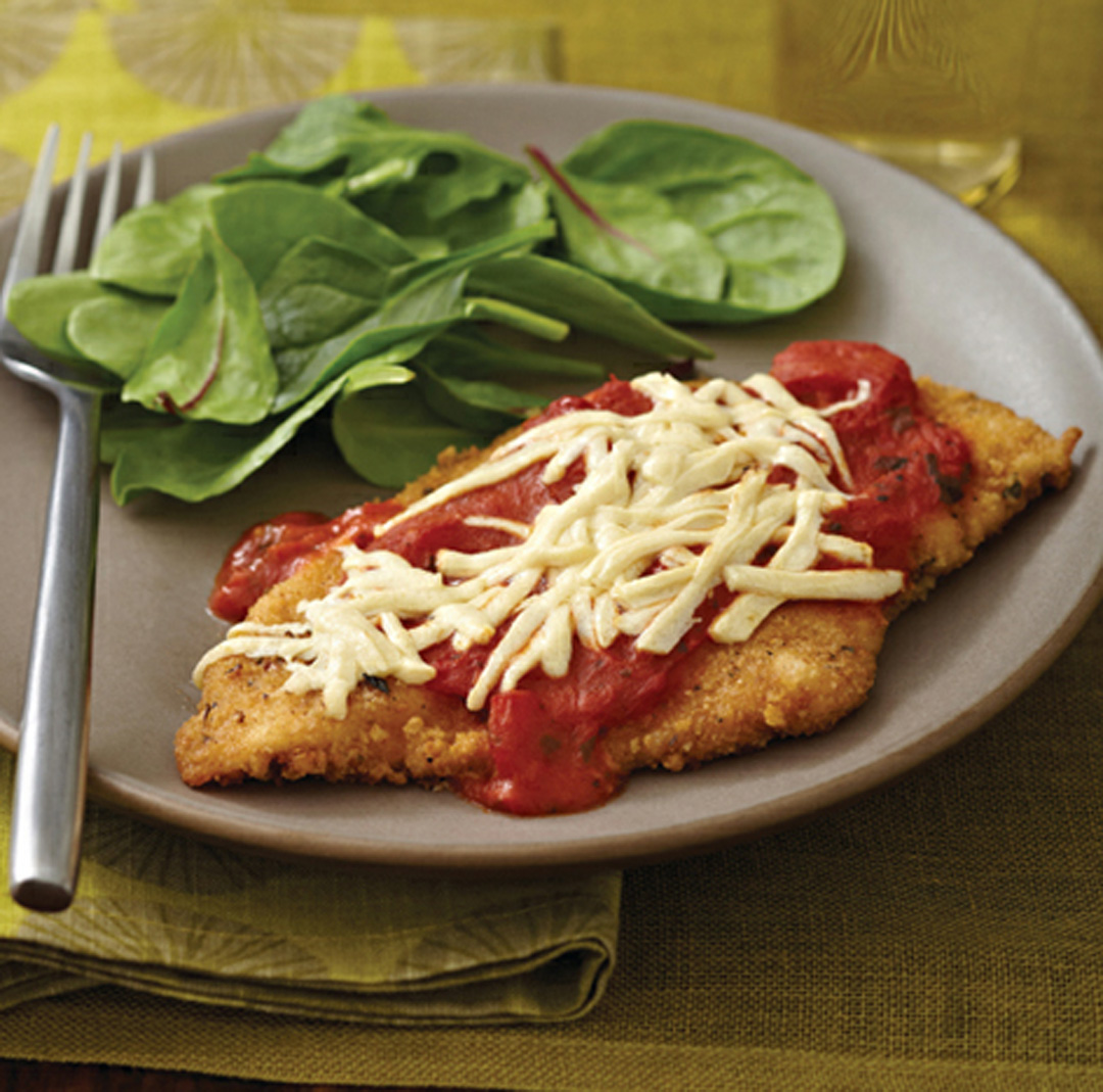 "Chicken ""Parmesan"" with Simple Red Sauce Recipe"