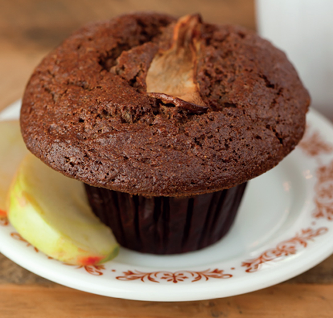 How to Make Apple-Cinnamon Buckwheat Muffins