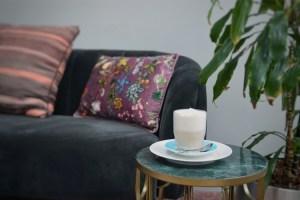 Snelle chai tea latte met sojamelk