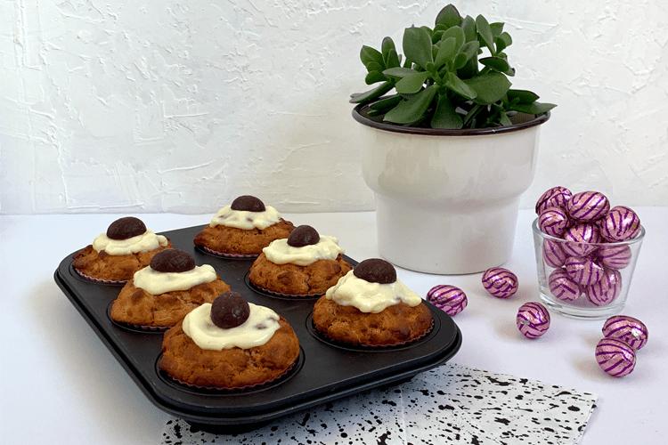 Paasmuffins met cannellini bonen