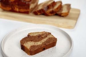 Eiwitrijk chocolade bananenbrood