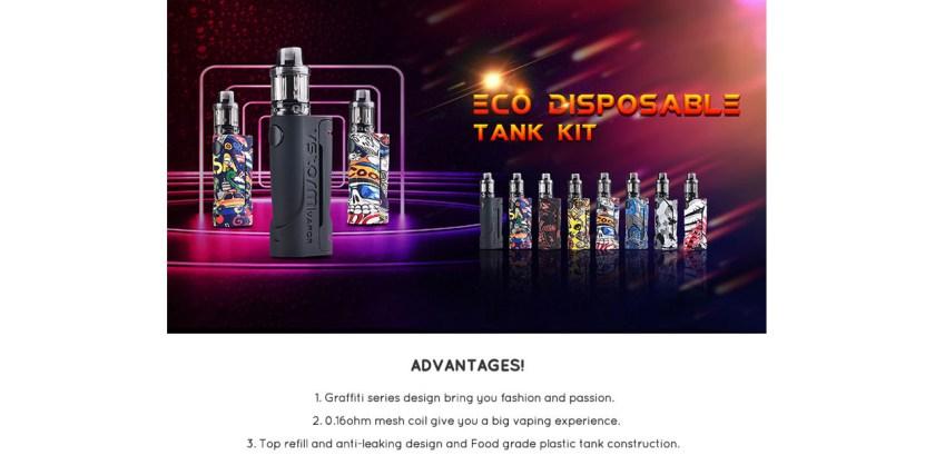 Vapor Storm eco disposable Kit