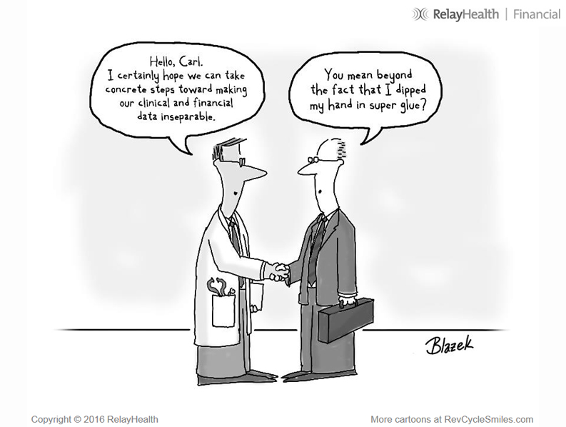 Gallery: Cartoons take healthcare revenue cycle operations