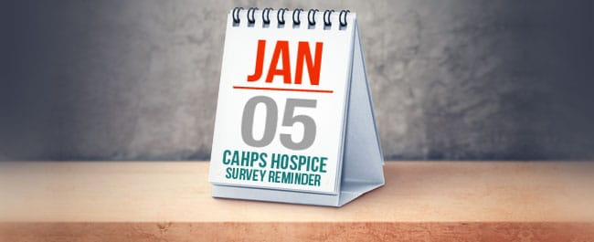 CAHPS Hospice Survey Reminder