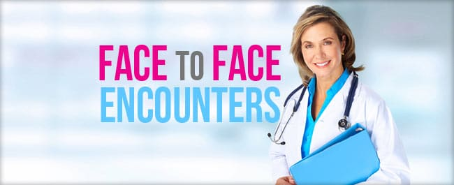 face-to-face medical review