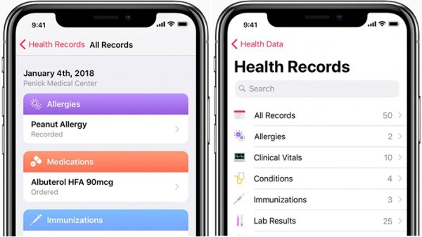 Apple to launch Health Records app with HL739s FHIR