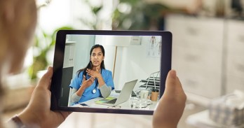 Virtual care video conferencing