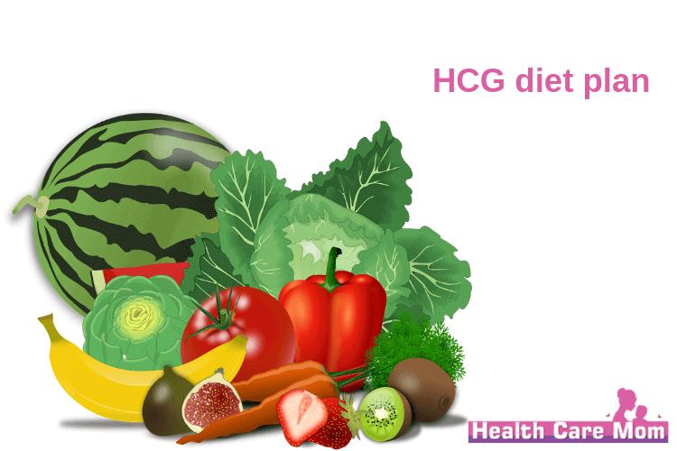 HCG diet plan look