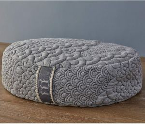 Cove Meditation Pillow from Brentwood Home Crystal