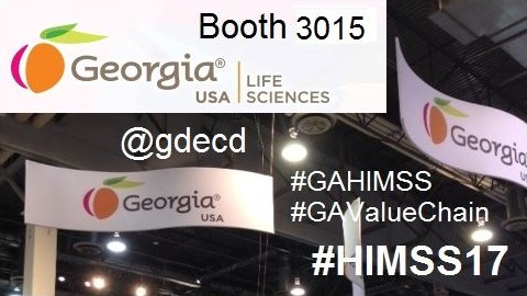 Georgia USA at #HIMSS17 in Booth 3015