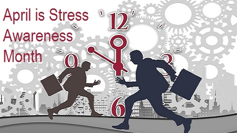 The Friday Five – National Stress Awareness Month