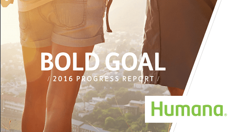 Humana Bold Goal: A Bold Commitment to Population Health