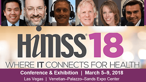 The Friday Five – Healthcare NOW Radio Hosts at HIMSS18