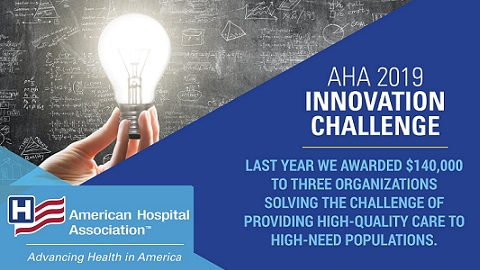 AHA Looking for Ideas on 2019 Innovation Challenge