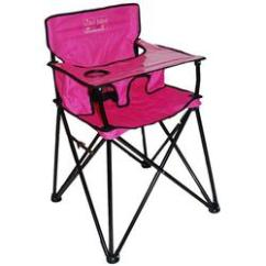 Portable High Chair Baby Dining Set With 8 Chairs Ciao Hb2015 Pink Free Shipping