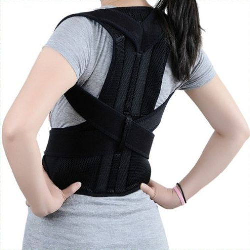posture monitoring chair steel leg caps support brace – back and shoulder | orthopedic braces / supports, ...