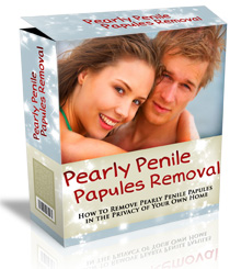 pearly papule removal