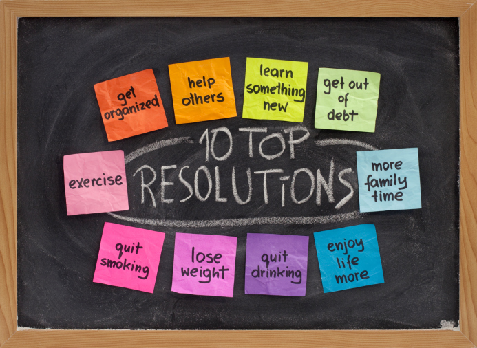 New Year's 2019 Resolutions - Part One