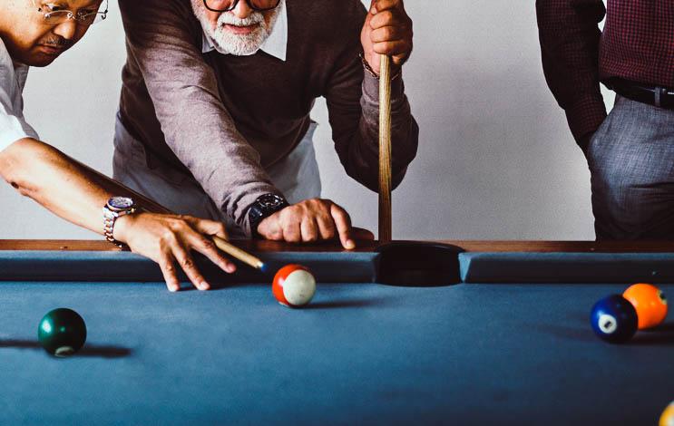 Sex on a pool table Nude Photos 90