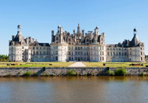Chambord Chateau panoramic, France.
